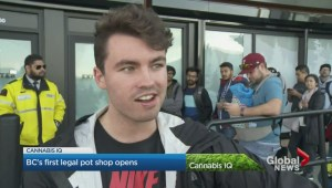 B.C.'s first government pot store opens its doors