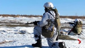 Russia stages massive military drills