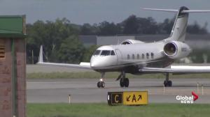 Private jet carrying rapper Post Malone makes emergency landing with blown tires