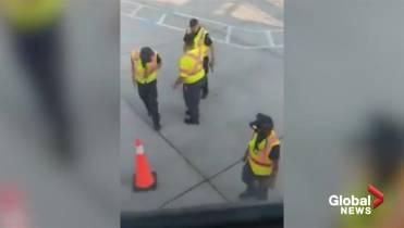 Hundreds of passengers stranded after Swoop cancels or