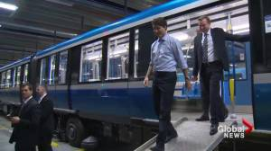 Canada gives $775M to fund Montreal transit