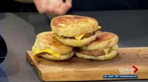 Chartier serves fried 'bologna' sandwiches in the Global Kitchen (3/3)