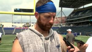 RAW: Blue Bombers Matt Nichols Interview – June 24