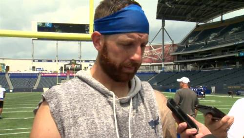 RAW: Blue Bombers Matt Nichols Interview – June 24