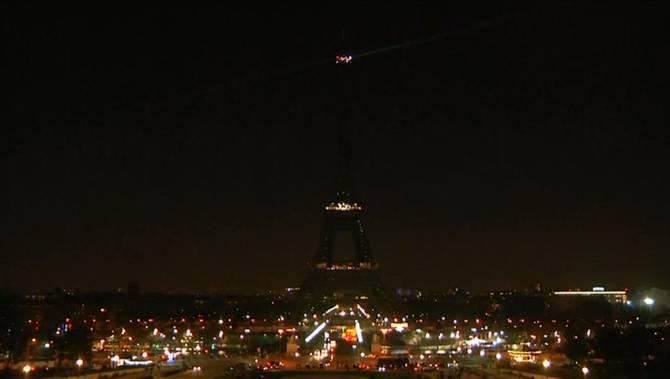 Landmarks around the world go dark for Earth Hour 2018 ...