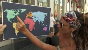 Jimmy Kimmel asks Americans where North Korea is on a map, but they pointed to Canada