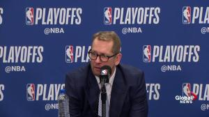 'Hoping we can get back to being more ourselves': Nick Nurse after Raptors Game 4 win over 76ers