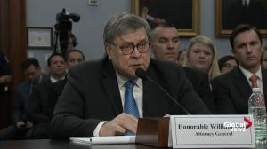 William Barr says he will release Mueller report 'within a week'