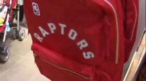 Excited and delighted Raptors fans shop 'til they drop