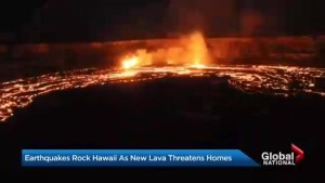Hawaii's Big Island struck by earthquake as Kilauea eruption continues to rattle Hawaii