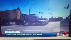Collision involving RCMP vehicle sparks debate