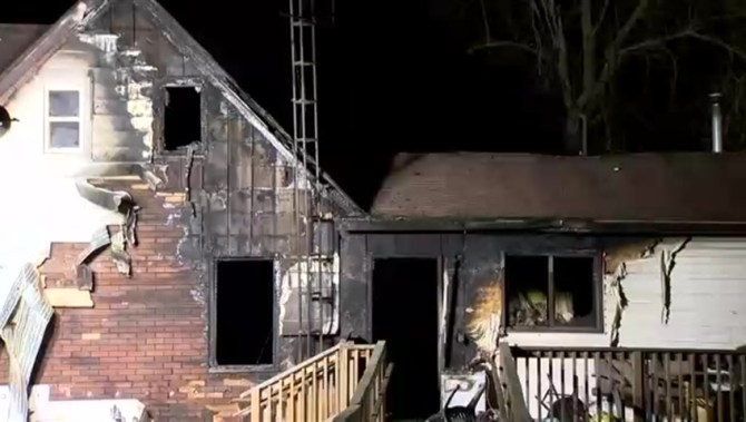 """""""3-year-old boy dead, 2 infants in serious condition after house fire near Caledonia""""的图片搜索结果"""