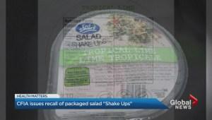 East Smart Salad Recall