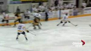 Nipawin Hawks win SJHL championship after season marked by the Humboldt Broncos tragedy