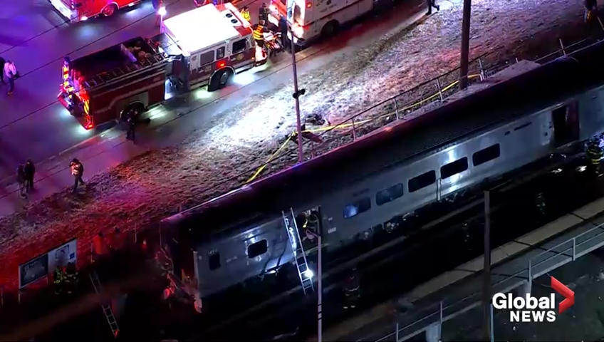 Driver in train-car crash was fleeing earlier crash