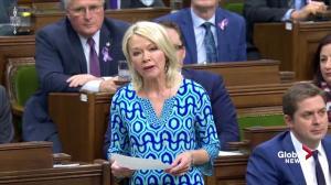 Candice Bergen calls Justin Trudeau a 'fake feminist'