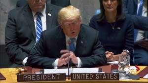 Trump tells UN that China doesn't want him to win 2020 election