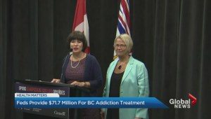 Ottawa gives B.C. millions for opioid crisis