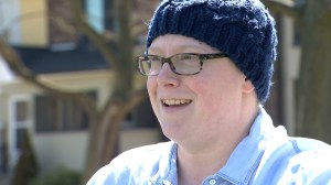 Woman undergoes scalpel-free brain surgery to treat depression