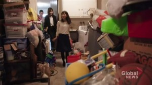 Marie Kondo inspiring people to tidy up
