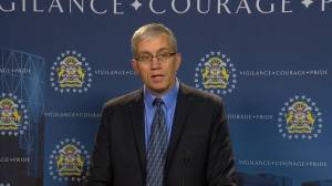 Manslaughter charge laid in relation to 2017 double homicide at Calgary Superstore (01:20)