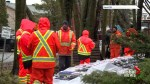 Île-Bizard blue collar workers praised for tireless flood relief efforts