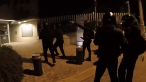 Greek anarchist group attacks Canadian embassy in Athens