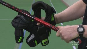 Former Calgary Stampeder designing safer lacrosse equipment for kids