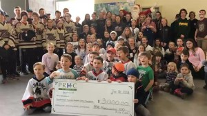 Peterborough Mombassadors put their kids to work and raised $3000 for PRHC