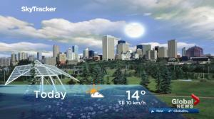 Edmonton early morning weather forecast: Friday, September 15, 2017
