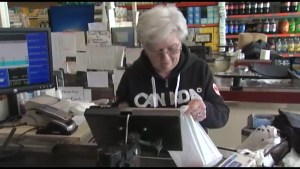 Minimum wage increase forces small-town grocery store to get creative when cutting costs.