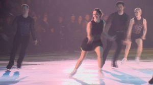World champion figure skater Kaetlyn Osmond performs in Saskatoon