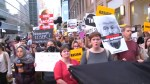 Protests against Trump in New York before U.N. speech