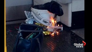 Police investigating explosion aboard a London subway a terrorist incident