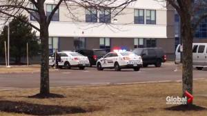 NBCC locked down after reports on a man with a handgun