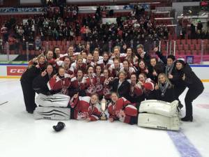 Calgarians win gold with Canadian Junior Ringette team