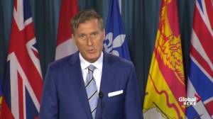 Bernier blasts Scheer as a coward for not supporting him in wake of Twitter controversy