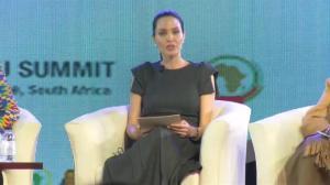 Angelina Jolie speaks at African Union summit