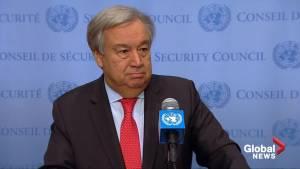 U.N. chief willing to meet Saudi crown prince at G20 summit