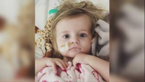Okotoks toddler back at home after surviving rare multiple-organ transplant surgery