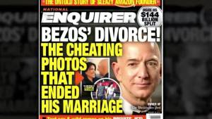 Amazon CEO Jeff Bezos says National Enquirer tried to extort him