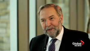 Food for Thought with outgoing MP and former party leader Tom Mulcair