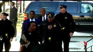 Bill Cosby arrives at Pennsylvania courthouse as sexual assault pretrial continues