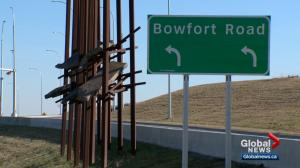 City of Calgary cancels second part of Bowfort Road interchange art project