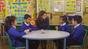 Princess Kate appears in new video calling for greater support for children's mental health needs
