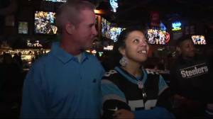 Carolina Panthers fans dejected as team loses Super Bowl 50