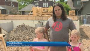 Better Winnipeg: Habitat homeowner finds out his house will be the Carter Home (01:51)