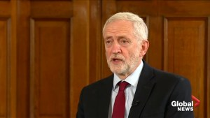 Jeremy Corbyn on Theresa May resignation: Next British PM must call an election