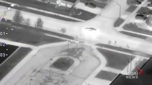 Police capture 2 suspects after high speed helicopter pursuit in Ontario