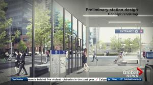 City of Calgary releases video showing Green Line LRT station designs